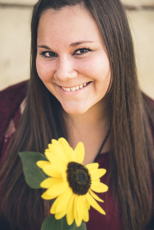 Sommer, Sonne, Sonnenblume - Portrait