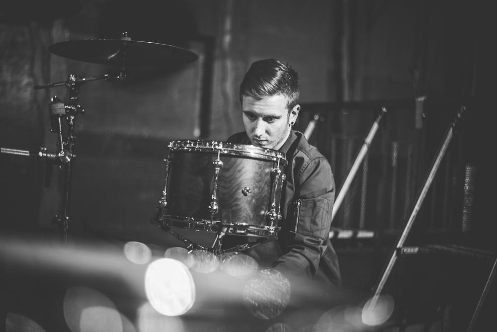 3 Times Twisted mit Dritte Wahl im Hirsch Nürnberg - Johny - Schlagzeug