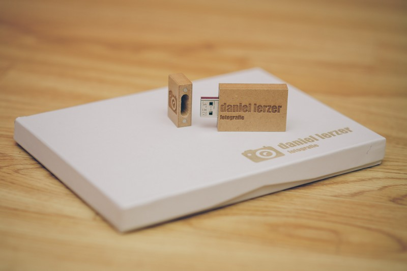 USB-Stick aus Holz
