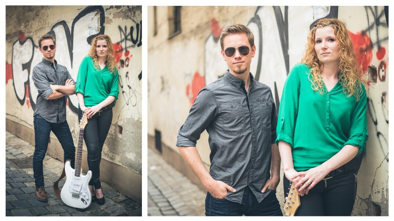 Engagement Shooting – Musikerpaar – Nürnberg