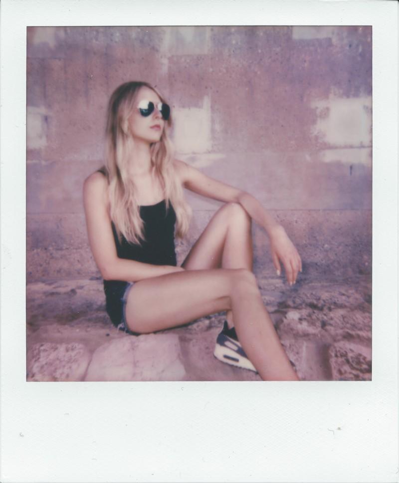 Die Spontanität und Polaroid