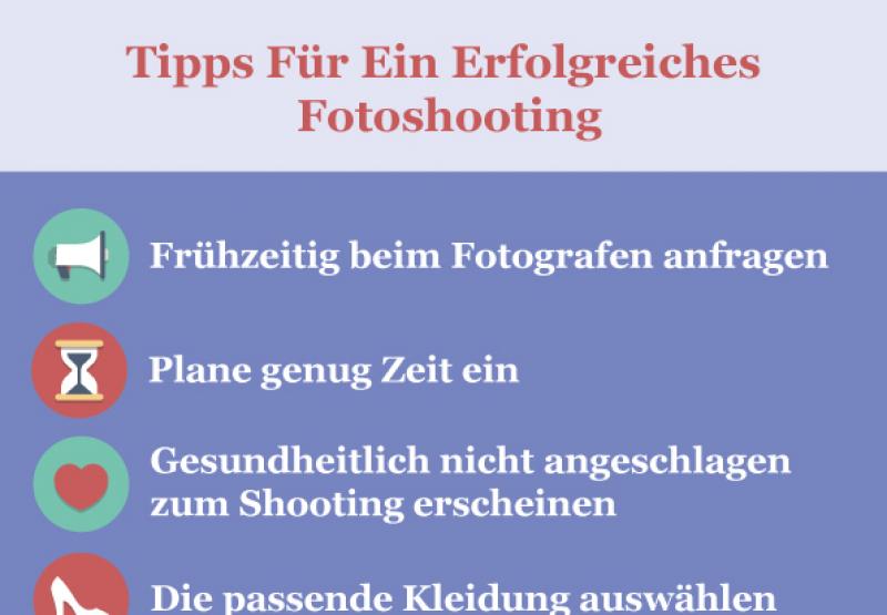 Tipps für ein erfolgreiches Fotoshooting